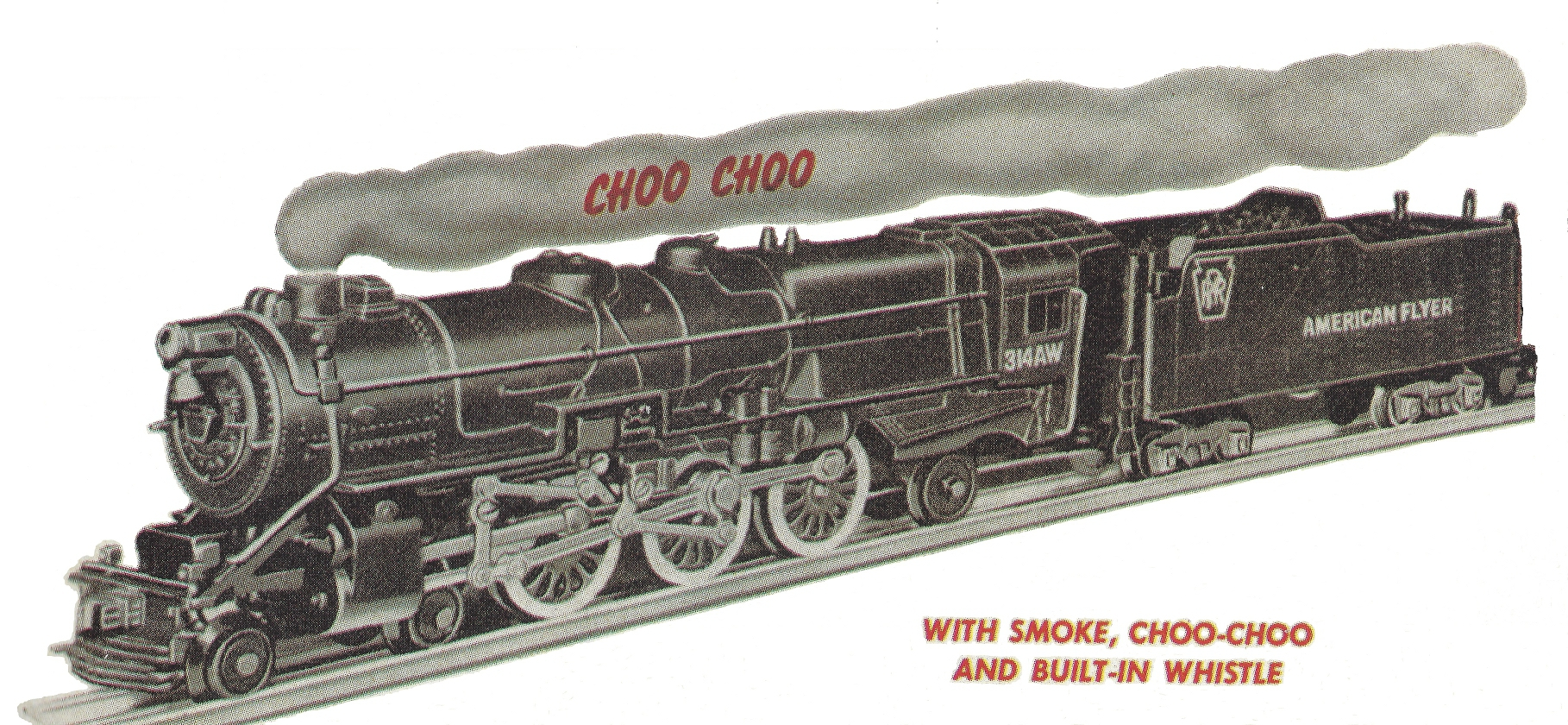 American Flyer Locomotive 314AW Pennsylvania K-5 Catalog Image