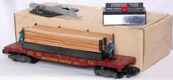 American Flyer Lumber Unloading Car 971