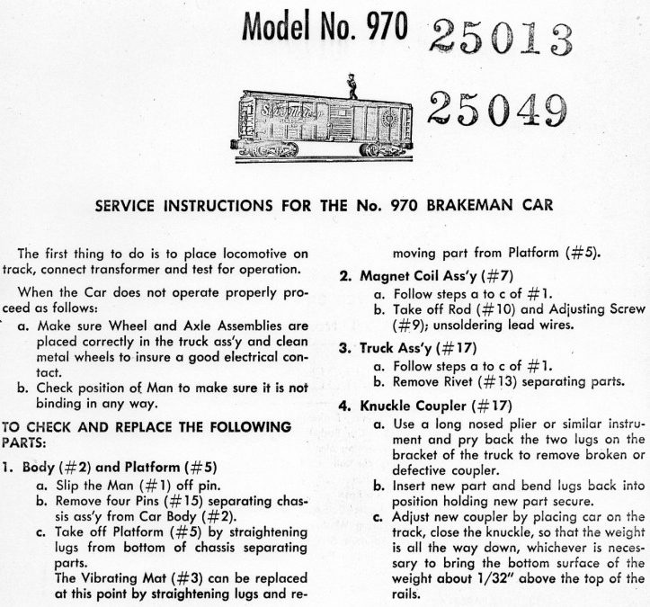 american flyer parts list archives page    traindr