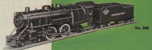 American Flyer Locomotive 300 Catalog Image