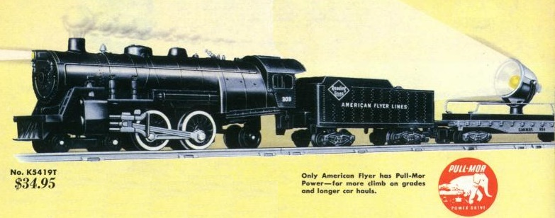 American Flyer Locomotive 303 Catalog Image