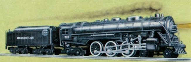 American Flyer Locomotive 326 Hudson