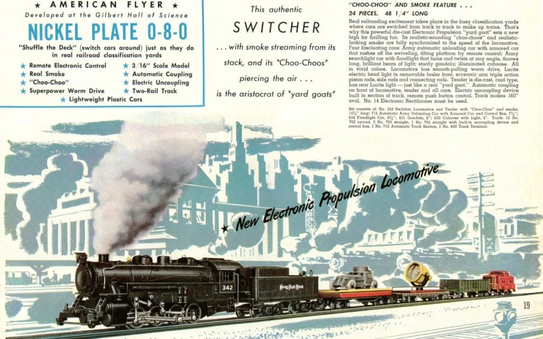 American Flyer Locomotive 342DC