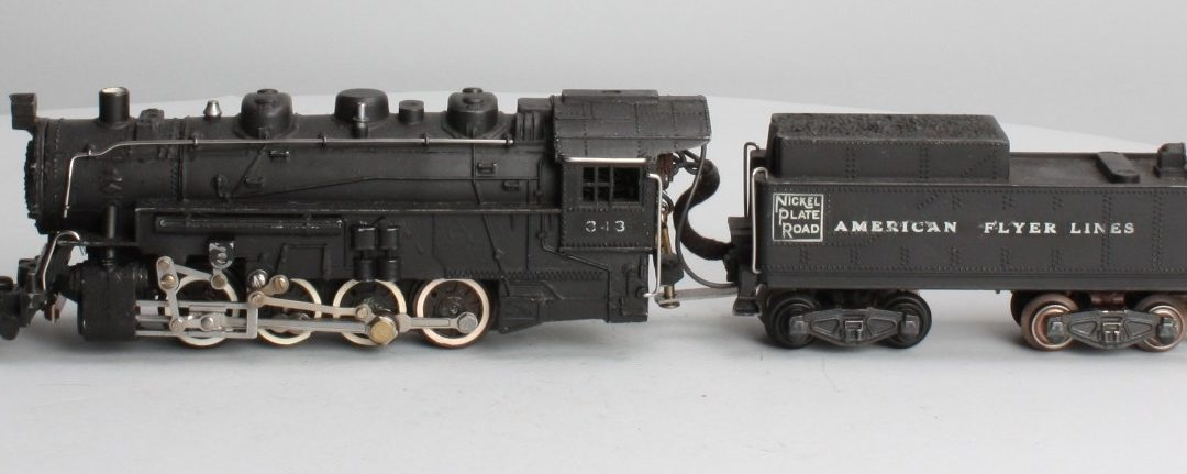 American Flyer Locomotive 343 Nickel Plate Road Switcher