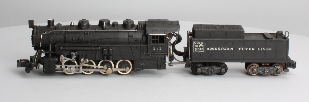 American Flyer No. 343 Nickle Plate Switcher