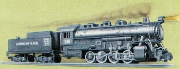 American Flyer Locomotive 346 Catalog Image