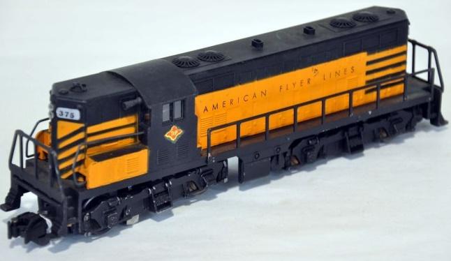 American Flyer Locomotive 3745 GP-7 Twin Unit Diesel