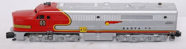 American Flyer Locomotive 472 Santa Fe