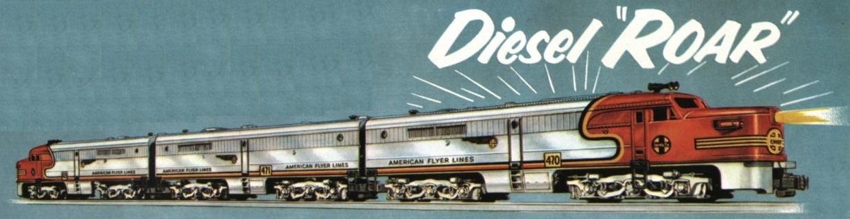 American Flyer Locomotive 4713 Chief Catalog Image