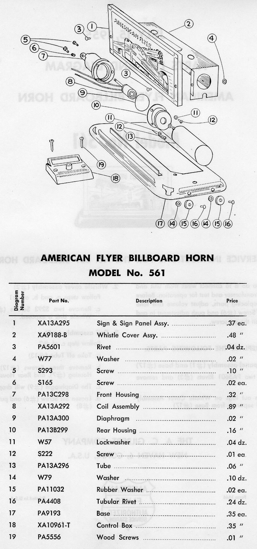 American Flyer Parts Diagrams Trusted Wiring Locomotive 561 Diagram Circuit Connection U2022 21085 Train