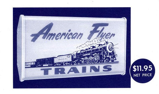 Gilbert American Flyer Sign No. 18