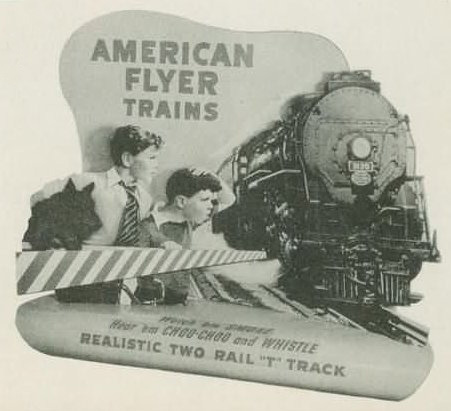 History of American Flyer Displays