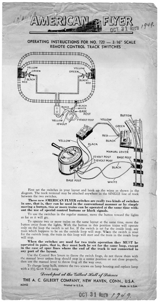 Lionel Train Wiring Diagrams Switch further Lionel Switch Track Wiring Diagram besides Lionel Fastrack Switch Controller Wiring Diagram further Lionel 1122 Switch Wiring Diagram together with Lionel Postwar Wiring Diagrams. on train lionel 1122 switch wiring diagrams