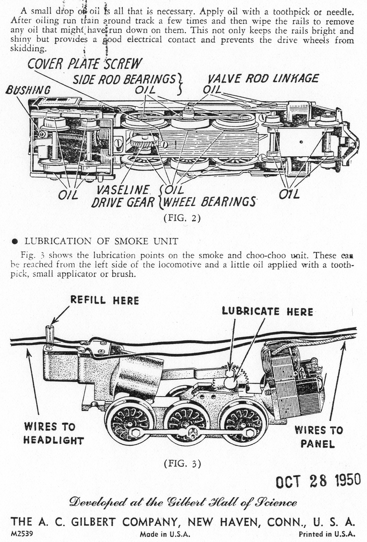 Worm Drive Lionel Locomotive Wiring Diagram House American Flyer Diagrams Instructions Traindr Rh Com Schematics Crossing