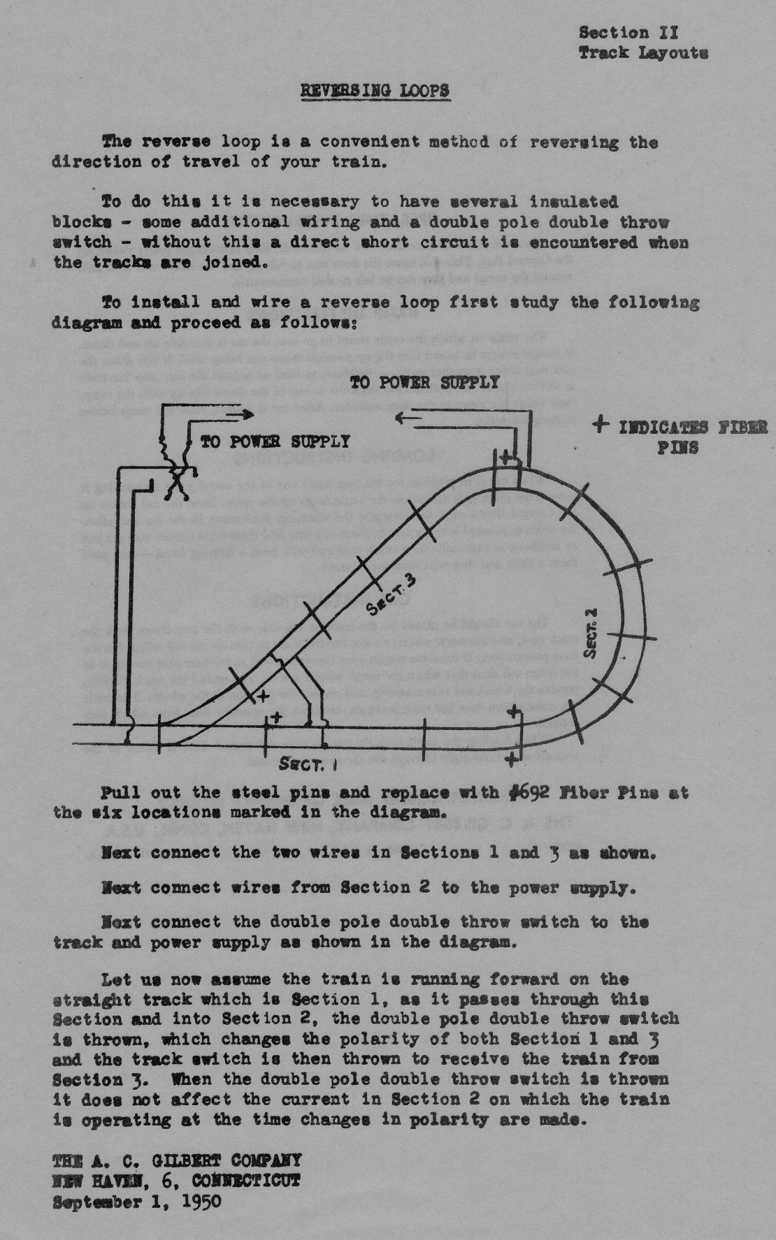 American Flyer Reverse Loop Layout Traindr For Ho Train Wiring Diagrams Directions Loops Reversing Track