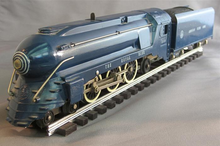 American Flyer Locomotive 350 Pacific Royal Blue