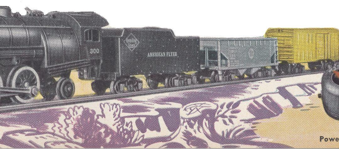 American Flyer Train Set 490T
