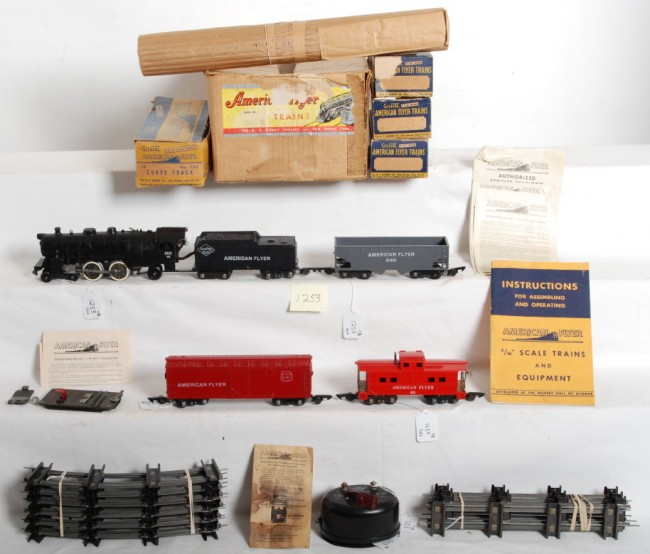 American Flyer Train Set 501T