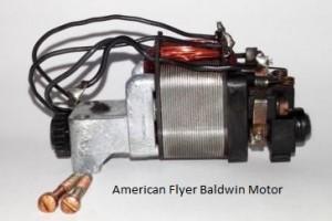 American Flyer Baldwin Motor