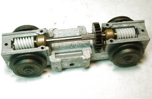 What are the different types of American Flyer Train Motors