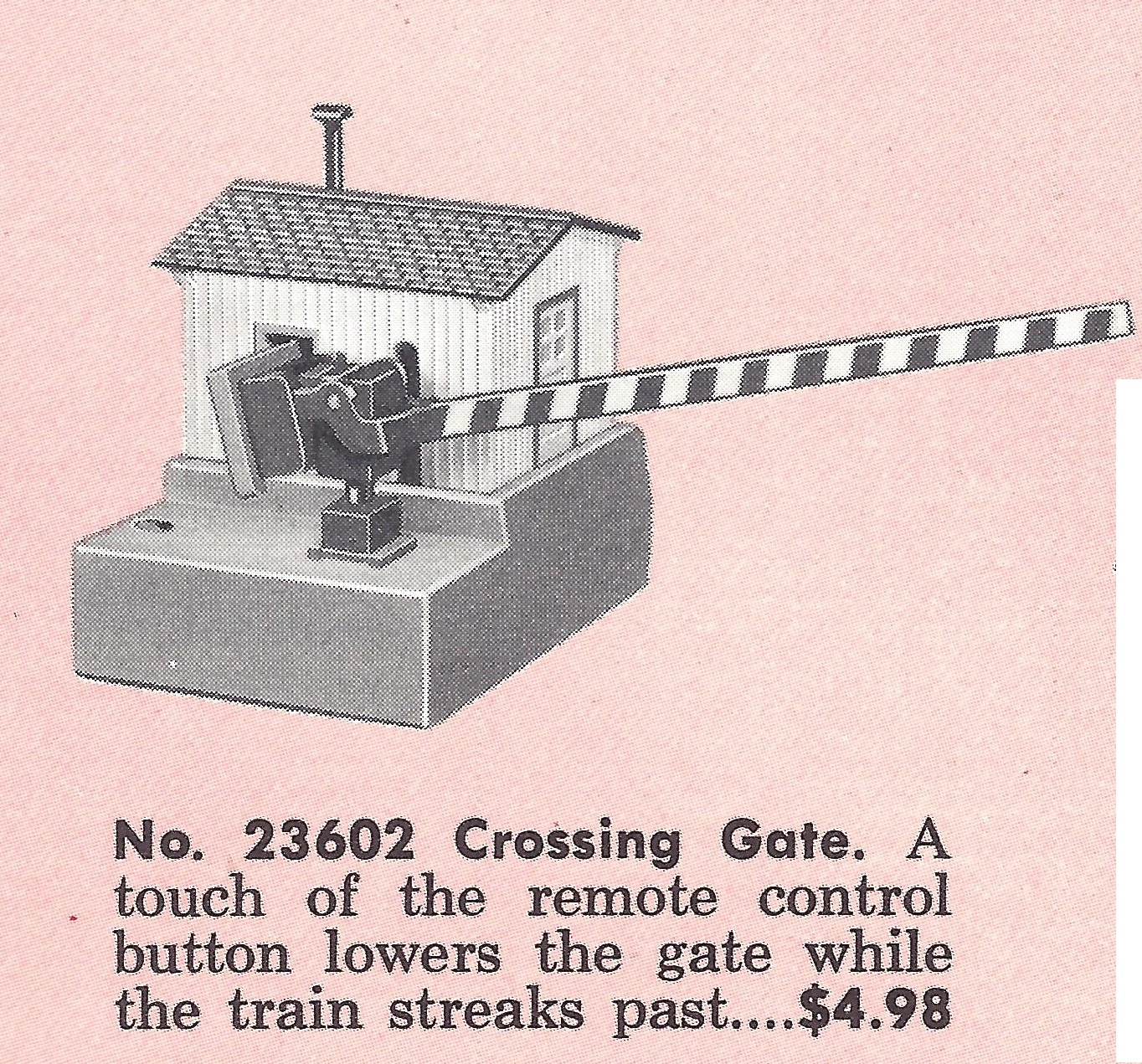 American Flyer Crossing Gate 23602