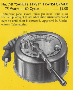 American Flyer No. 7B Safety First Transformer