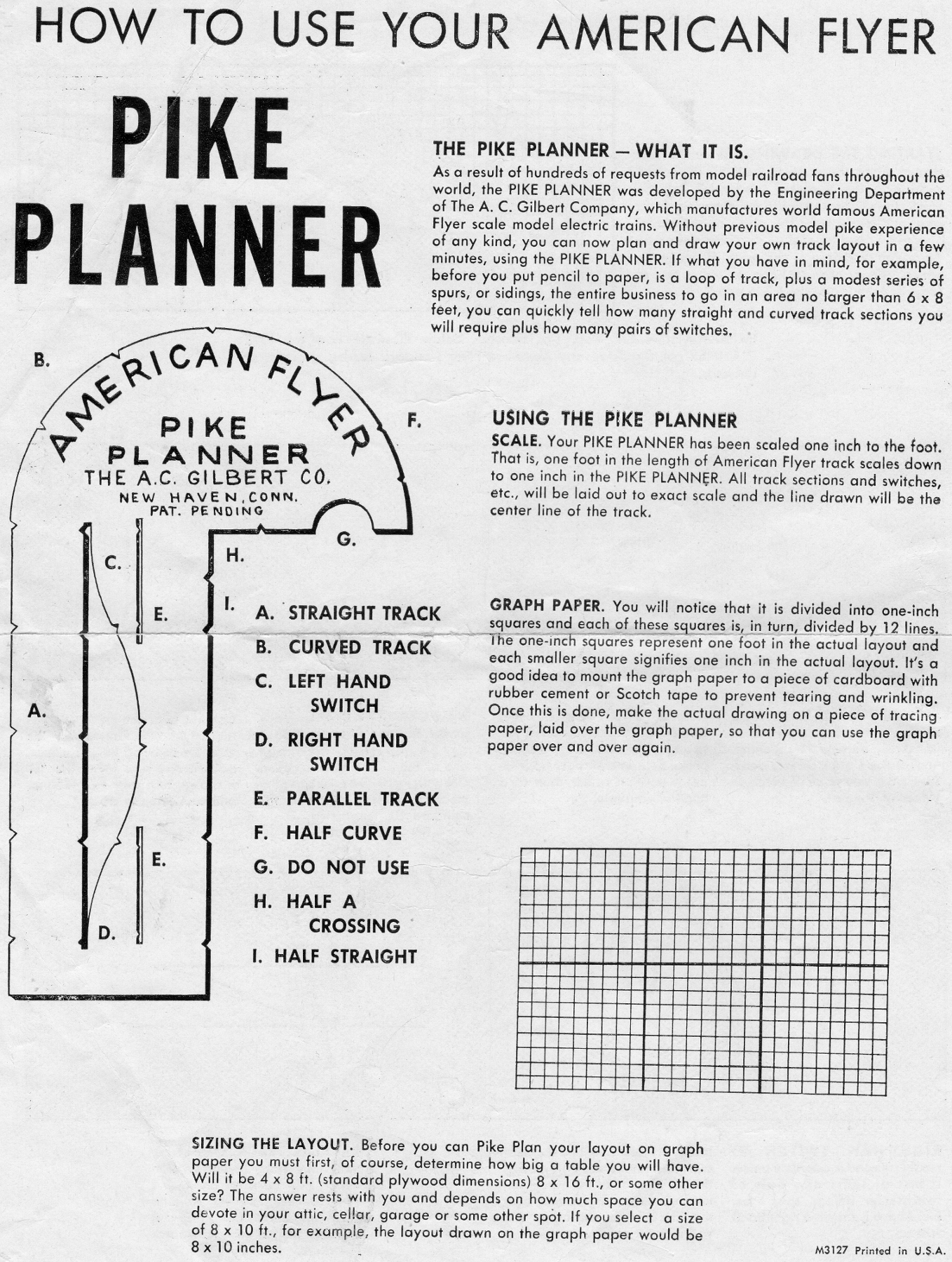 American Flyer Pike Planner - Page 1