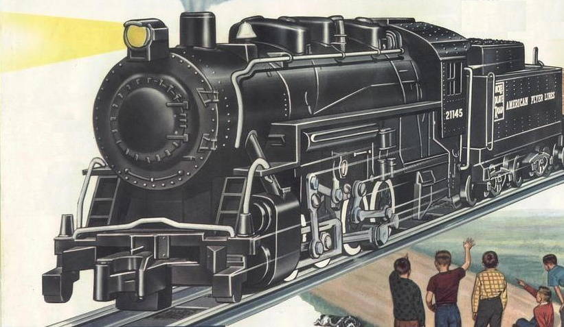 American Flyer Locomotive 21145 Catalog Image