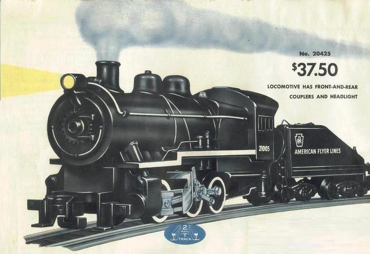 American Flyer Locomotive 21005 Catalog Image