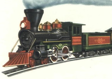 American Flyer Locomotive 21088 Franklin Catalog Image