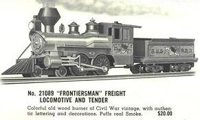 American Flyer Locomotive 21089 Old Timer