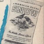 American Flyer Snow