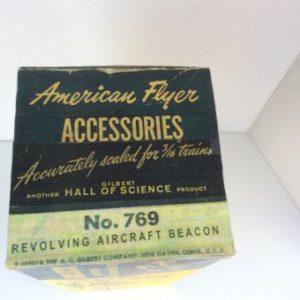 American Flyer No. 769 Revolving Aircraft Beacon Accessories - 1950