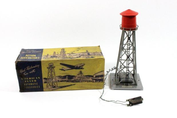 American Flyer No. 772 Automatic Water Tower Box Pack - 1951