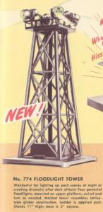 American Flyer No. 774 Floodlight Tower - 1951