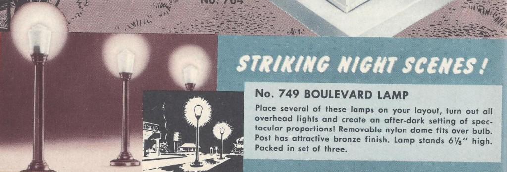 No. 749 Boulevard Lamp - 1951