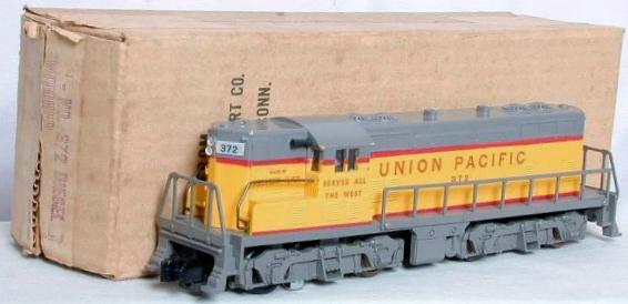 American Flyer Locomotive 372 Union Pacific GP 7 Diesel