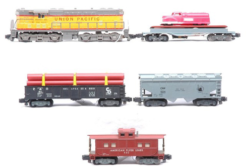 home traindr american flyer train set