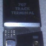 American Flyer 707 Track Terminal