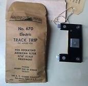 American Flyer Track Trip 670