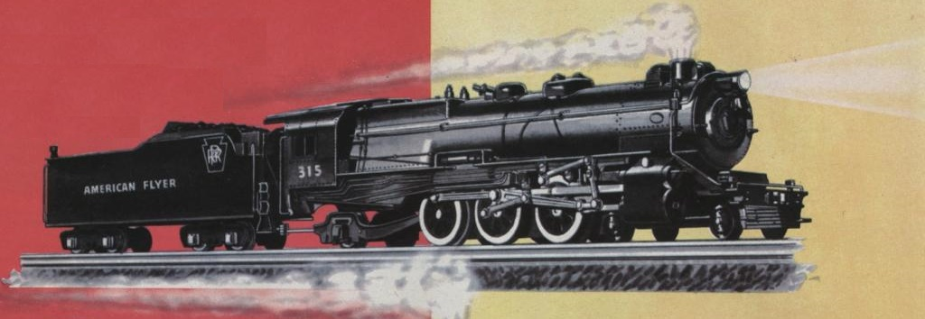 American Flyer Locomotive & Tender 315 Catalog Image