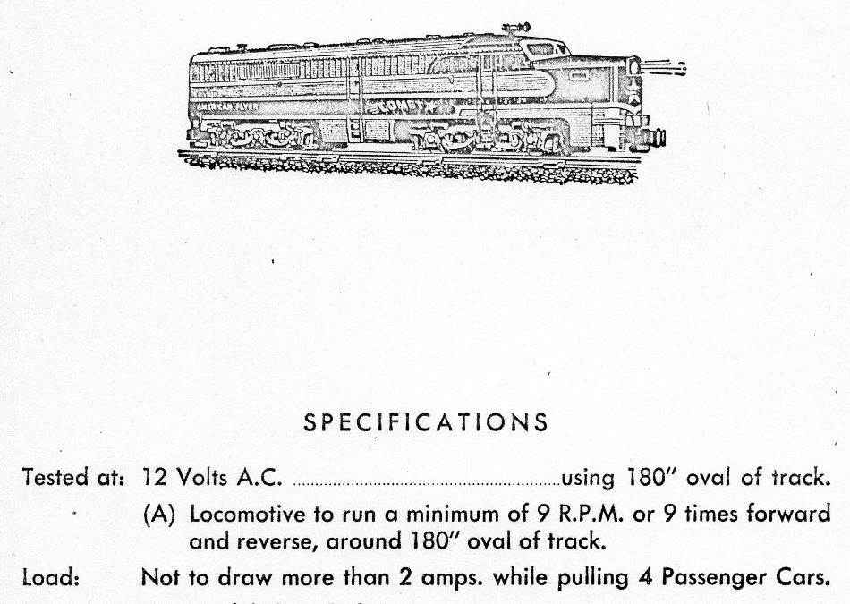 American Flyer Locomotive 466 Parts List & Diagram