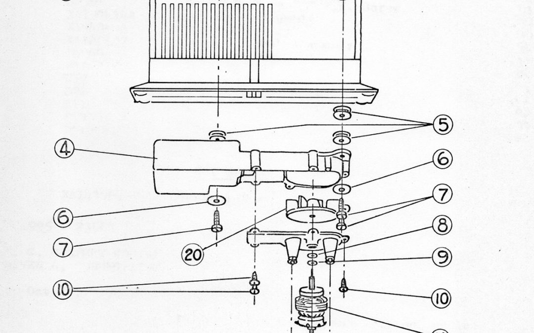 American Flyer Whistle 568 Parts List & Diagram