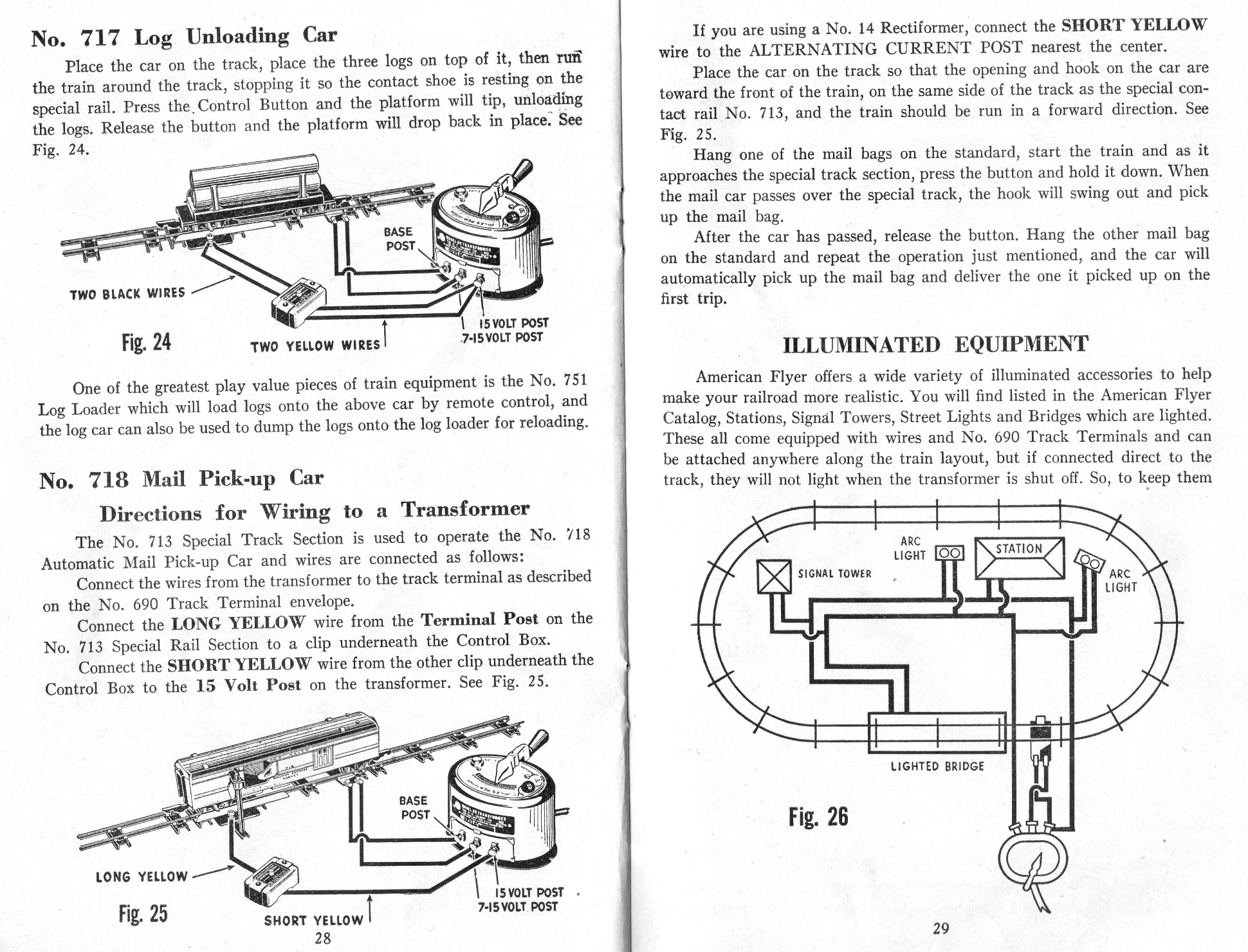 Automatic Action Cars and Illuminated Equipment