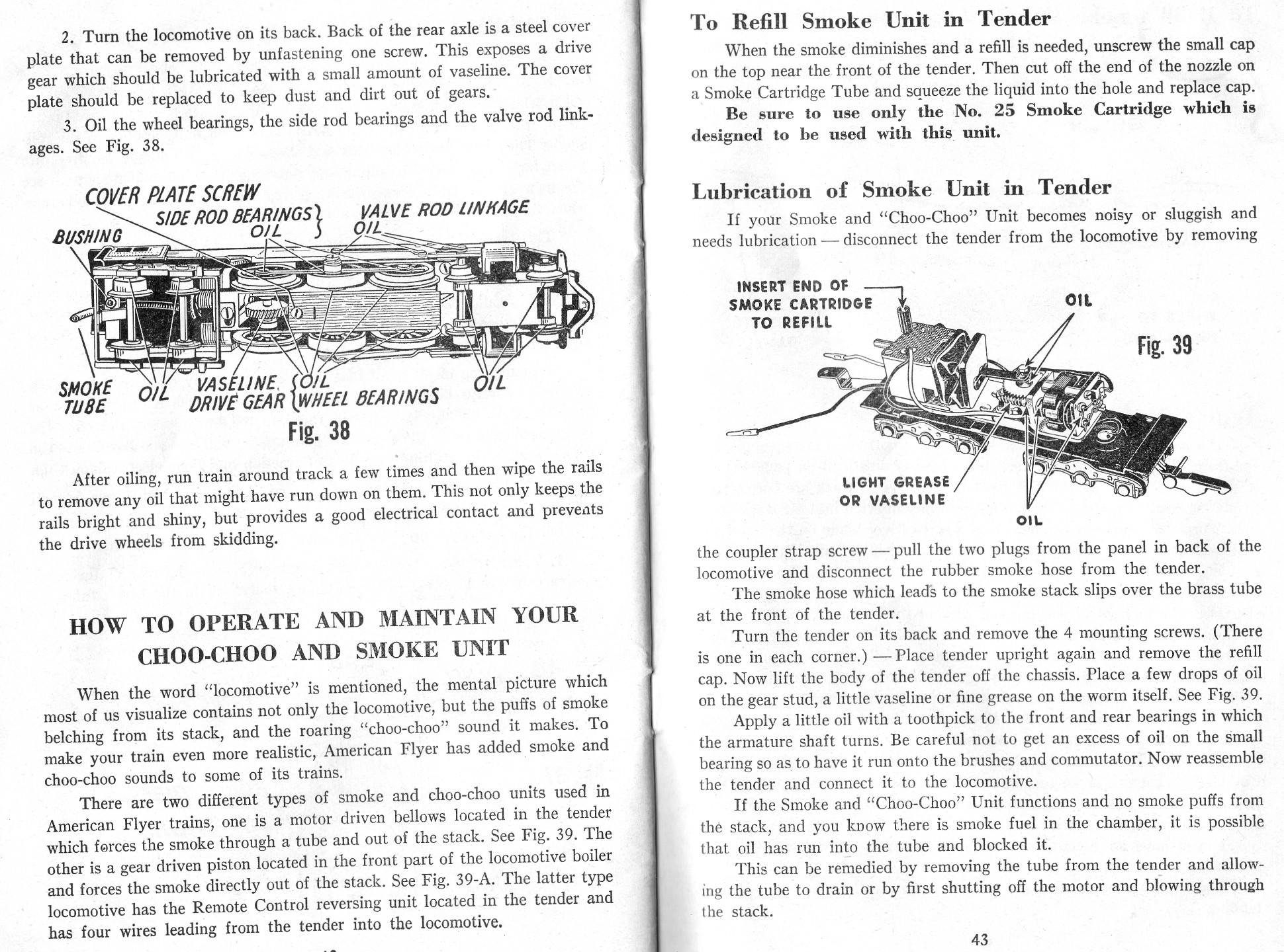 Choo-Choo & Smoke Units
