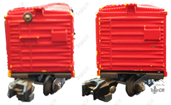 American Flyer Box Car 633 Baltimore & Ohio (Front & Rear View)