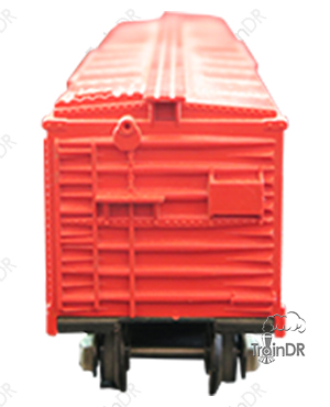 American Flyer Box Car 642 (Front View)