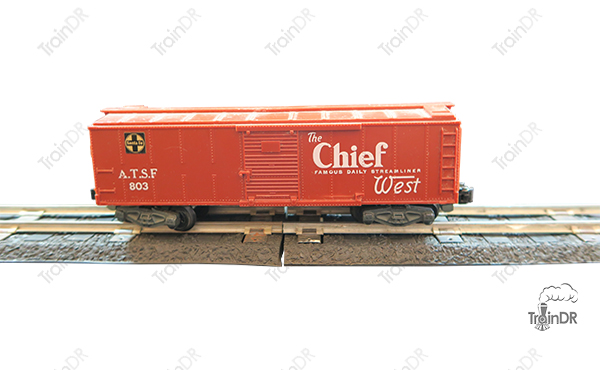 American Flyer Box Car 803 The Chief