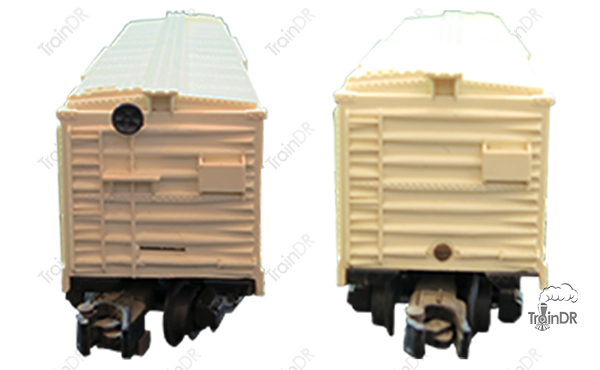 American Flyer Box Car 807 Rio Grande (Front & Rear View)