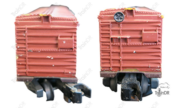 American Flyer Box Car 933 Baltimore & Ohio (Front & Rear View)
